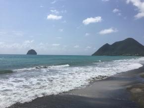February in Martinique